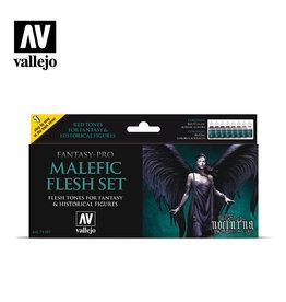 Vallejo Vallejo Fantasy Pro: Malefic Flesh Set