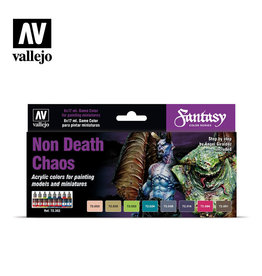 Vallejo Vallejo Game Colors Set- 72302 Non-Death Chaos