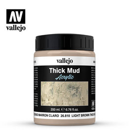 Vallejo Vallejo Diorama Effects: Light Brown Thick Mud