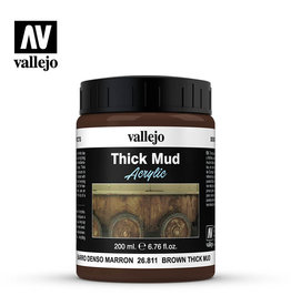 Vallejo Vallejo Diorama Effects: Brown Thick Mud