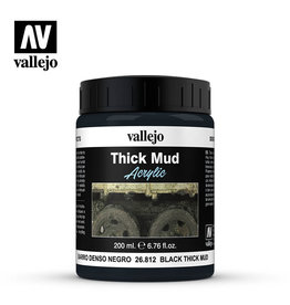 Vallejo Diorama Effects: Black Thick Mud