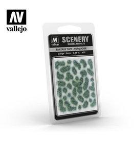 Vallejo Vallejo: Fantasy Tuft - Turquoise  (Large 6mm)