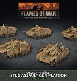 Battlefront Miniatures Flames of War: German: STUG Assault Gun Platoon