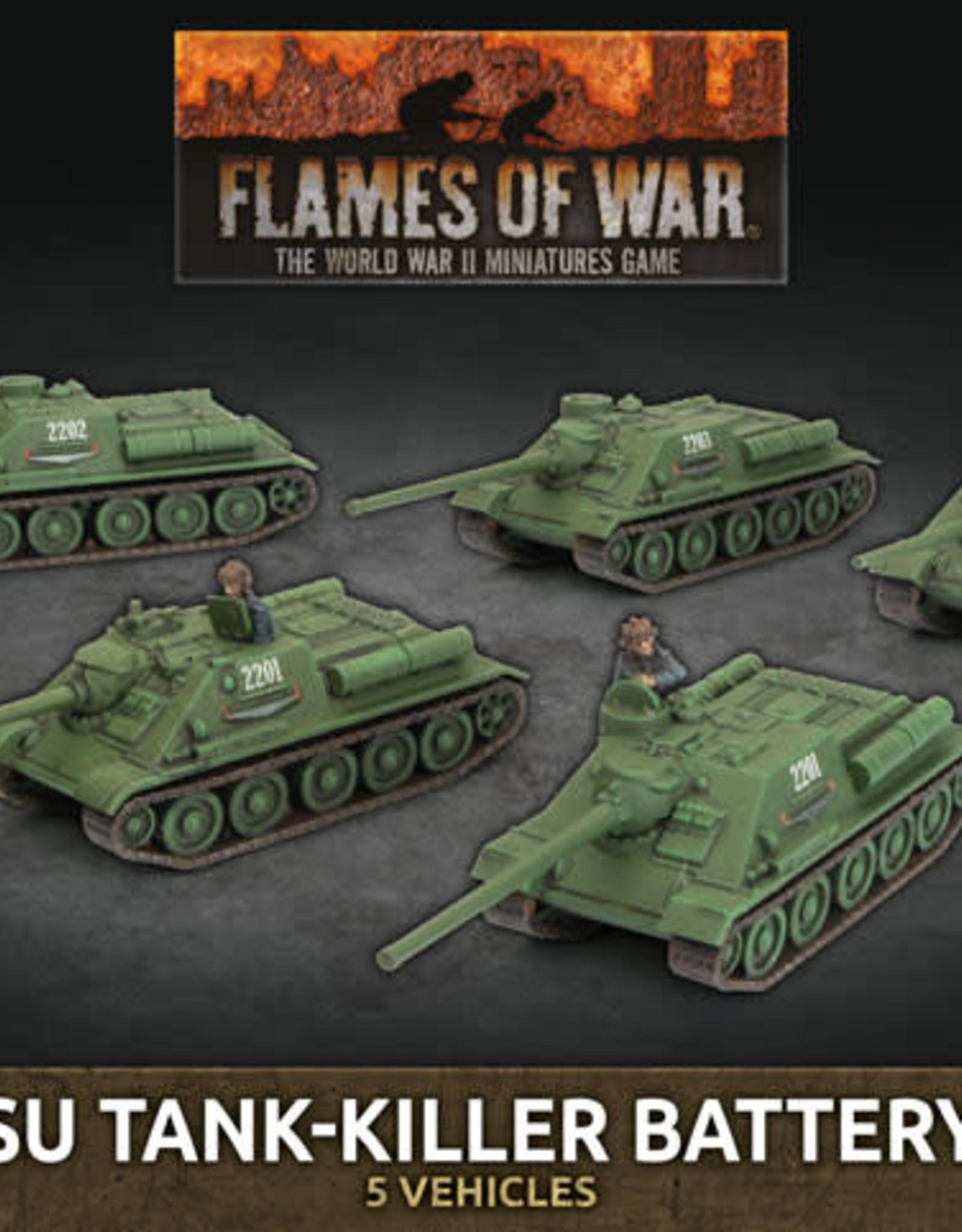 Battlefront Miniatures Flames of War: SU Tank-Killer Battery