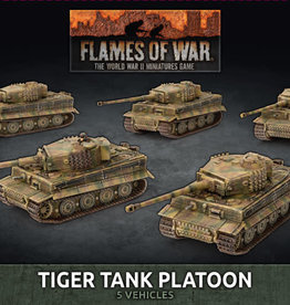 Battlefront Miniatures Flames of War: German: Tiger Tank Platoon