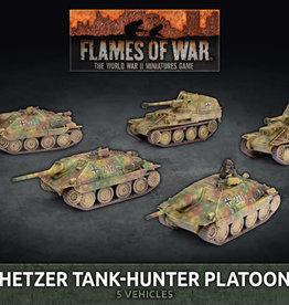 Battlefront Miniatures Flames of War: German: Hetzer Tank-Hunter Platoon (Plastic)