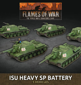 Flames of War: Soviet: ISU Heavy SP Battery