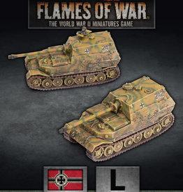 Battlefront Miniatures Flames of War: German: Elefant Tank-Hunter Platoon