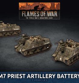 Battlefront Miniatures Flames of War: American - M7 Priest Artillery Battery