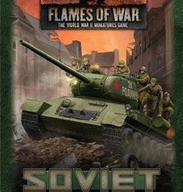 Battlefront Miniatures Flames of War: Soviet Gaming Set (x20 Tokens, x2 Objectives, x16 Dice)