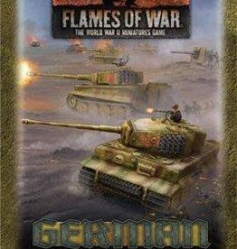 Battlefront Miniatures Flames of War: German Gaming Set (x20 Tokens, x2 Objectives, x16 Dice)