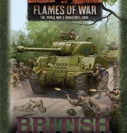 Battlefront Miniatures Flames of War: British Gaming Set (x20 Tokens, x2 Objectives, x16 Dice)