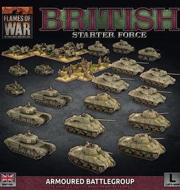 """Battlefront Miniatures Flames of War: Late War - British """"Armored Battlegroup"""" Starter Force"""