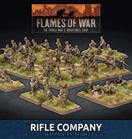 Battlefront Miniatures Flames of War: American - Rifle Company