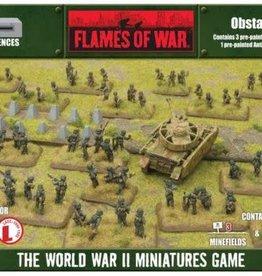 Gale Force Nine Flames of War: Defences: Obstacles