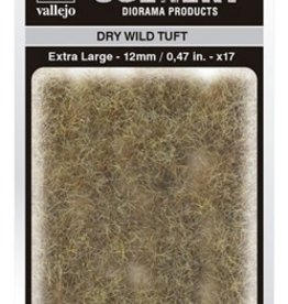 Vallejo Vallejo Scenery Diorama Products: DRY WILD TUFT (Extra Large 12mm)