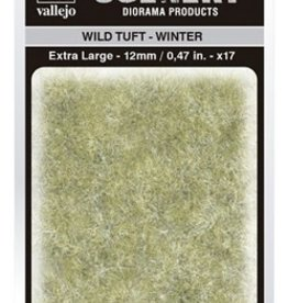Vallejo Vallejo Scenery Diorama Products: WILD TUFT- WINTER (Extra Large 12mm)