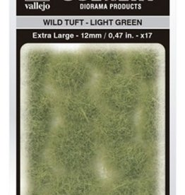 Vallejo Vallejo Scenery Diorama Products: WILD TUFT- LIGHT GREEN (Extra Large 12mm)