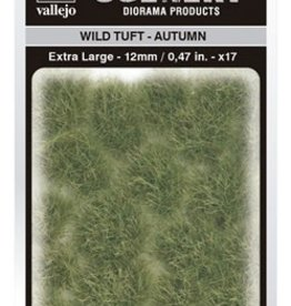 Vallejo Vallejo Scenery Diorama Products: WILD TUFT- AUTUMN (Extra Large 12mm)