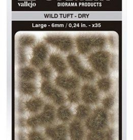 Vallejo Vallejo Scenery Diorama Products: WILD TUFT- DRY (Large 6mm)
