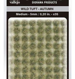 Vallejo Vallejo Scenery Diorama Products: WILD TUFT- AUTUMN (Medium 5mm)
