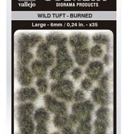 Vallejo Vallejo Scenery Diorama Products: WILD TUFT- BURNED (Large 6mm)