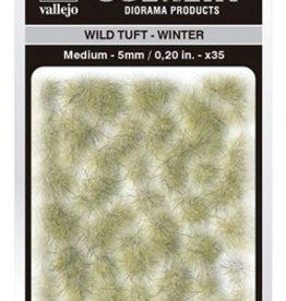 Vallejo Vallejo Scenery Diorama Products: WILD TUFT- WINTER (Medium 5mm)
