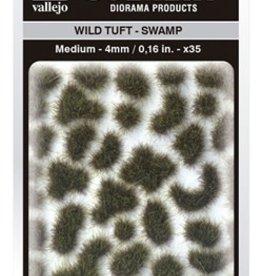 Vallejo Vallejo Scenery Diorama Products: WILD TUFT- SWAMP (Medium 4mm)