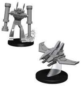 Wizkids Transformers: Wizkids Unpainted Minis - Laserbeak And Frenzy