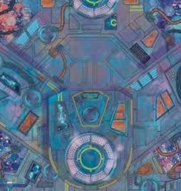 Atomic Mass Games Marvel - Crisis Protocol - Spaceport Showdown Game Mat