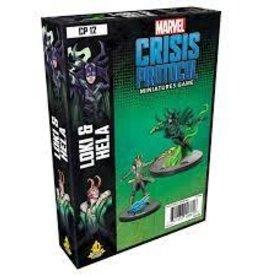 Atomic Mass Games Marvel Crisis Protocol: Loki & Hela Character Pack