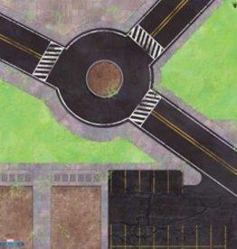 Atomic Mass Games Marvel Crisis Protocol: Roundabout Knockout Game Mat
