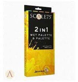 Scale75 Scale 75: 2 in 1 Wet Palette & Palette