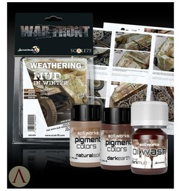 Scale75 Scale 75: War Front - Weathering Mud in Winter (Natural Soil/Dark Earth/Dark Mud)