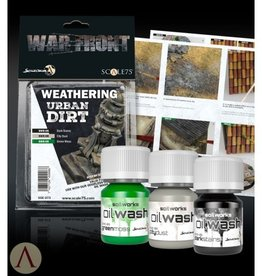 Scale75 Scale 75: War Front - Weathering Urban Dirt (Dark Stains/City Dust/Green Moss)
