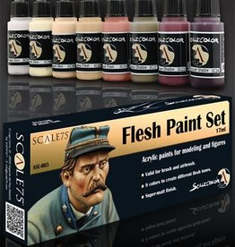 Scale75 Scale 75: Flesh Paint Set
