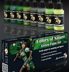 Scale75 Scale75: Colors of Nature Green Paint Set