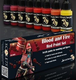 Scale75 Scale 75: Blood and Fire Red Paint Set