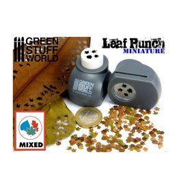 Green Stuff World Green Stuff World: Miniature Leaf Punch - Grey