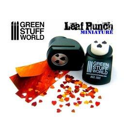 Green Stuff World Green Stuff World: Miniature Leaf Punch - Dark Green