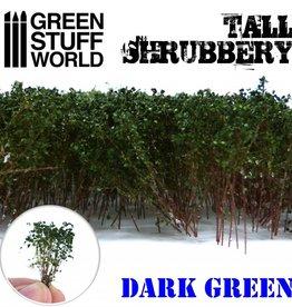 Green Stuff World Green Stuff World: Tall Shrubbery - Dark Green