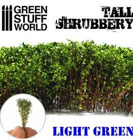 Green Stuff World Green Stuff World: Tall Shrubbery - Light Green