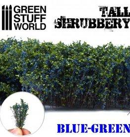 Green Stuff World Green Stuff World: Tall Shrubbery - Blue Green
