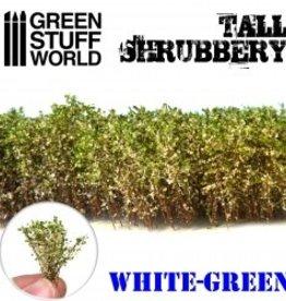 Green Stuff World Green Stuff World: Tall Shrubbery - White Green