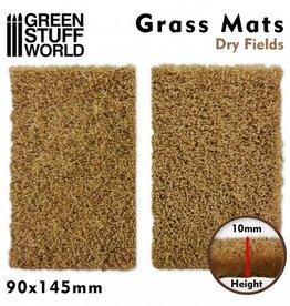 Green Stuff World Green Stuff World: Grass Mats Cut-Out - Dry Fields 10mm