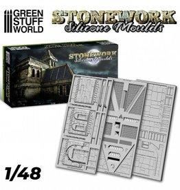 Green Stuff World Green Stuff World: Stonework Silicone Moulds