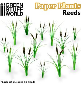 Green Stuff World Green Stuff World: Paper Plants - Reeds