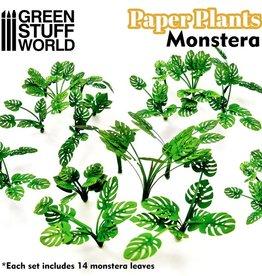 Green Stuff World Green Stuff World: Paper Plants - Monstera