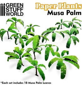 Green Stuff World Green Stuff World: Paper Plants - Musa Palm