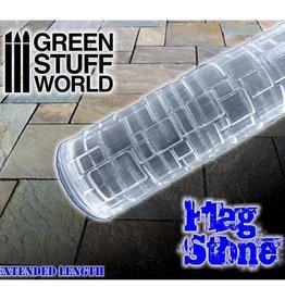 Green Stuff World Green Stuff World: Rolling Pin - Flag Stone